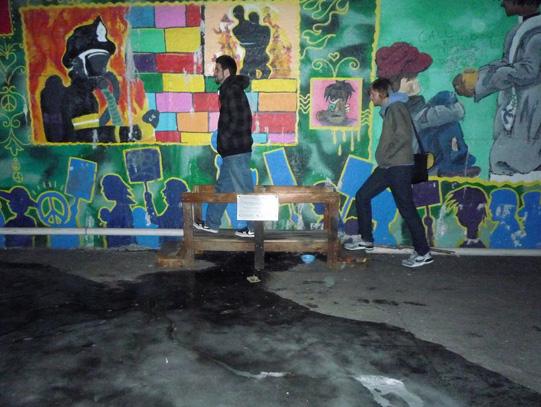 Paulo and Ryan crossing Astoria Scum River Bridge
