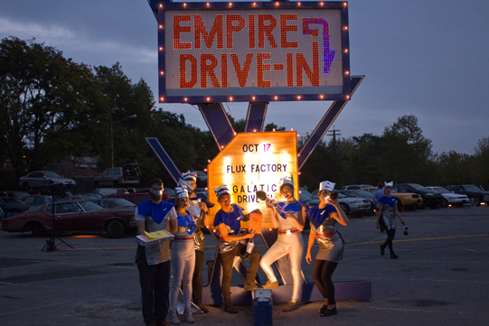 Empire Drive-In sign