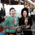 Black Tap milkshakes with selfie sticks