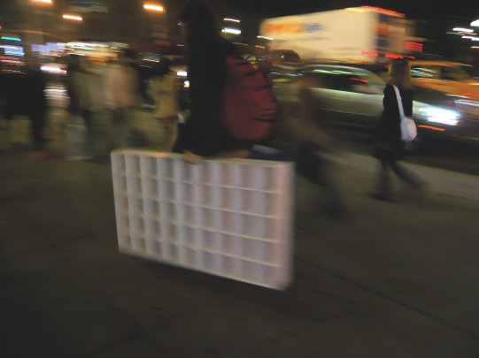 Pixelator in Transit