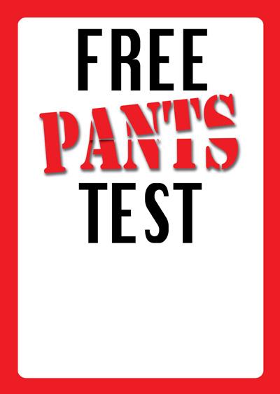 Free Pants Test