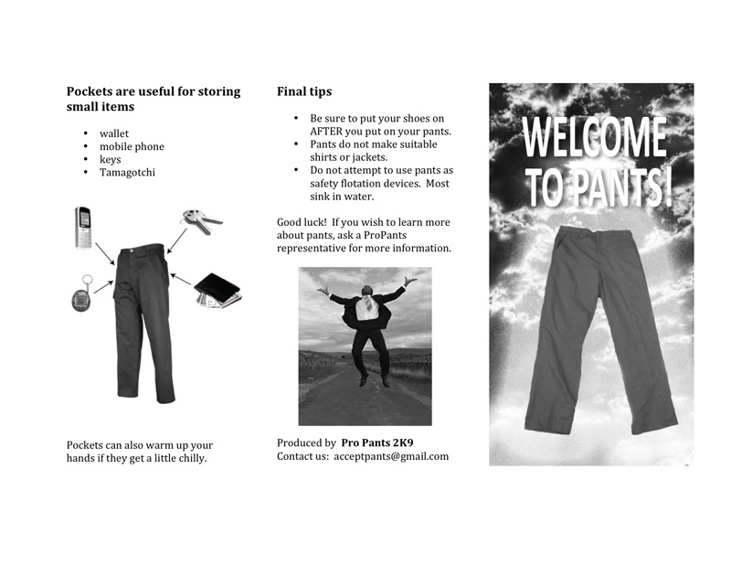 Welcome to Pants Page 2