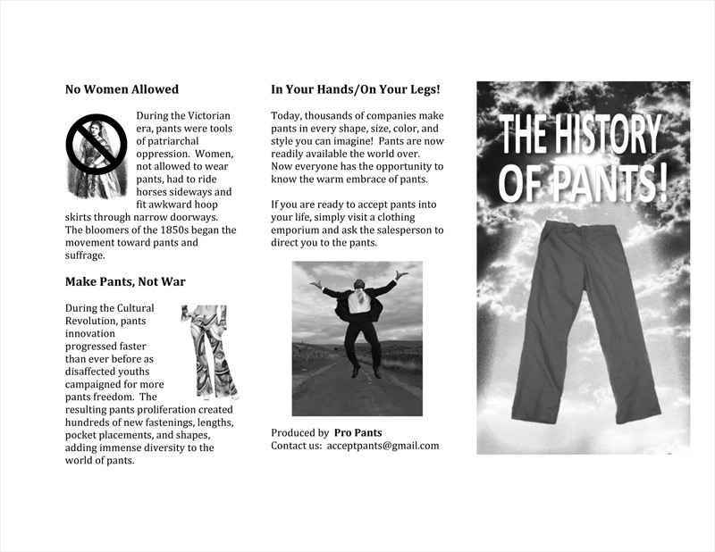 The History of Pants! Page 2