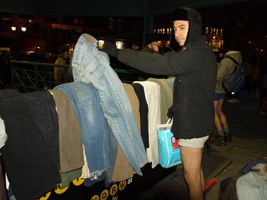 taking pants