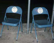 Starbucks Chairs by Rob Cockerham