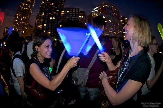 light saber battle