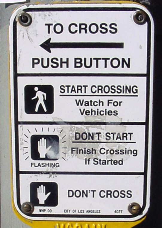 original crosswalk instructions