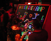 Camp Lite-Brite at Burning Man