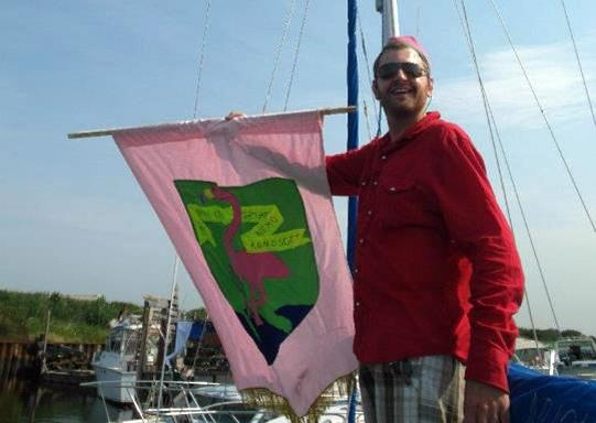 Cullen raises the flag