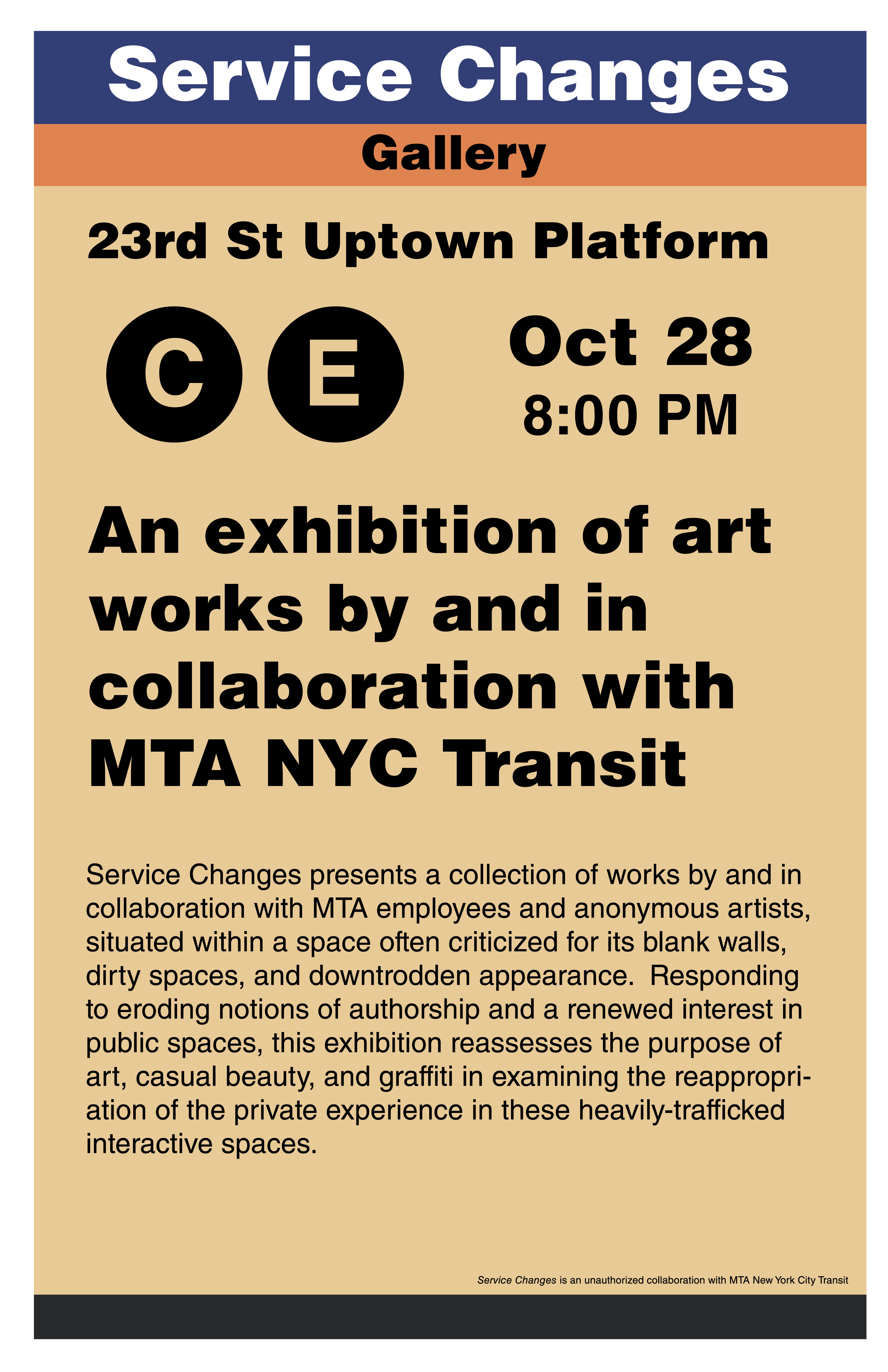 Subway Art Gallery Opening • Jason Eppink\'s Catalogue of Creative ...